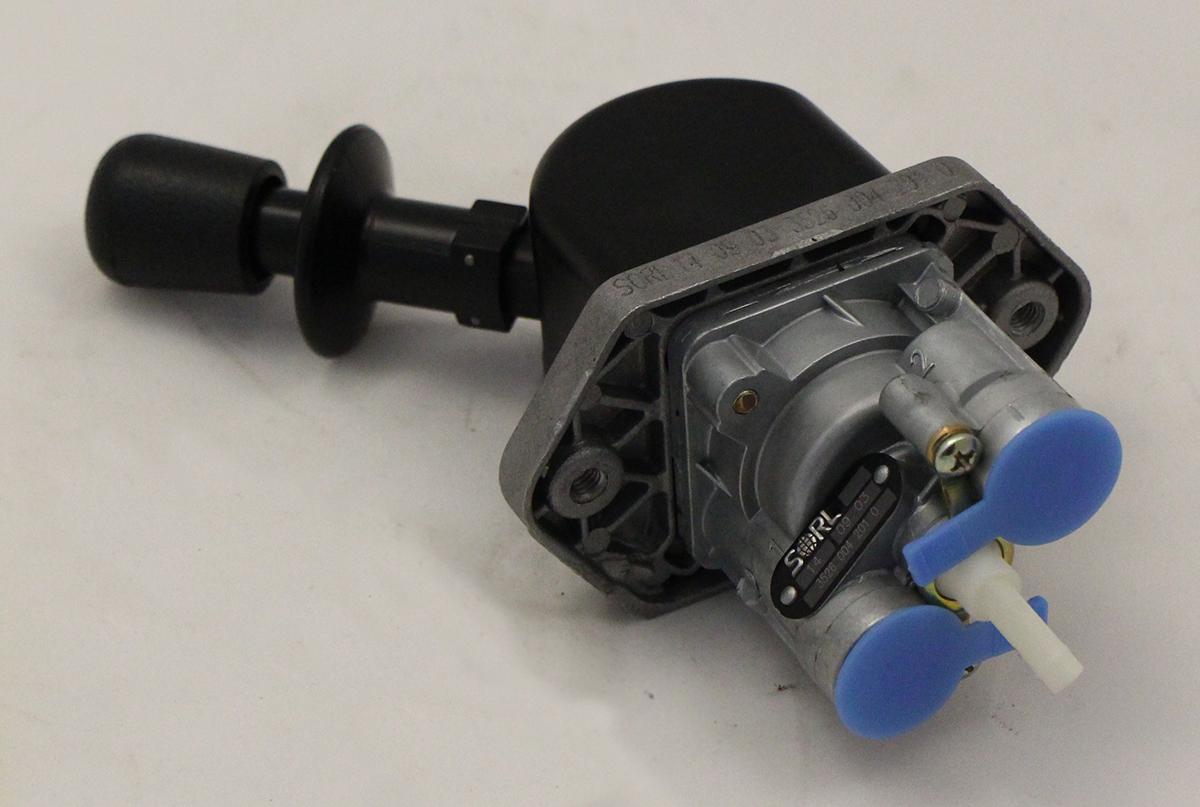 Ручной тормозной кран 2-х выводной